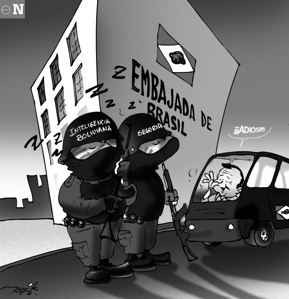 La Caricatura del Dia