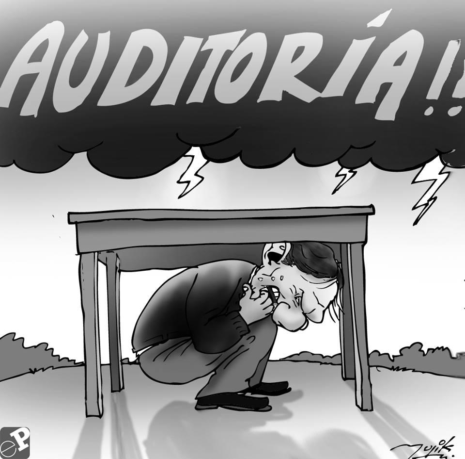 Caricatura tormenta