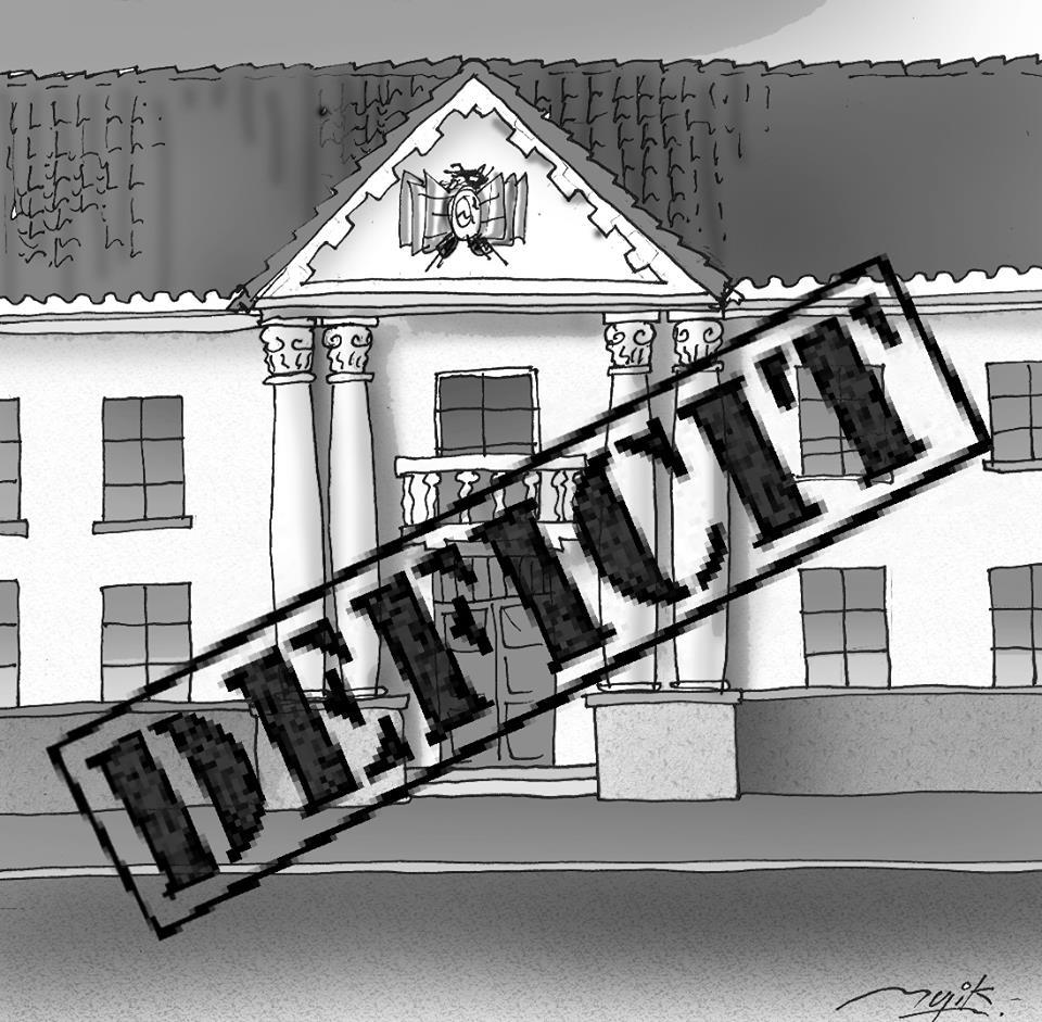 Caricatura de las instituciones del Estado Plurinacional de Bolivia
