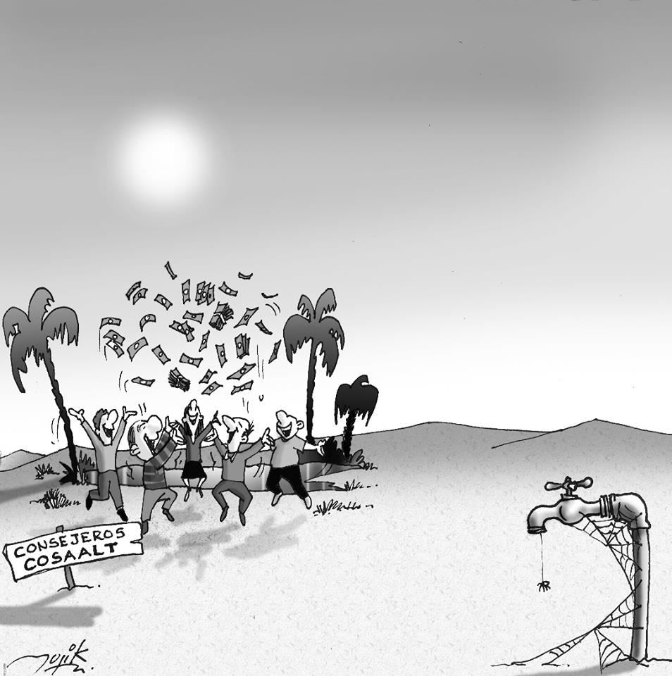 caricatura de consejeros