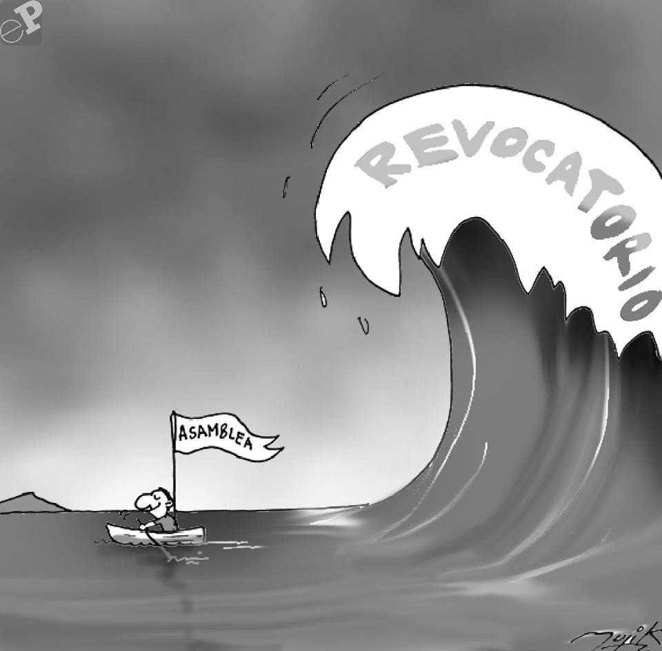 Caricatura tsunami