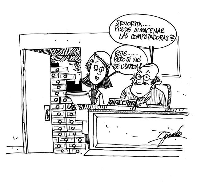 Caricatura de burocracia