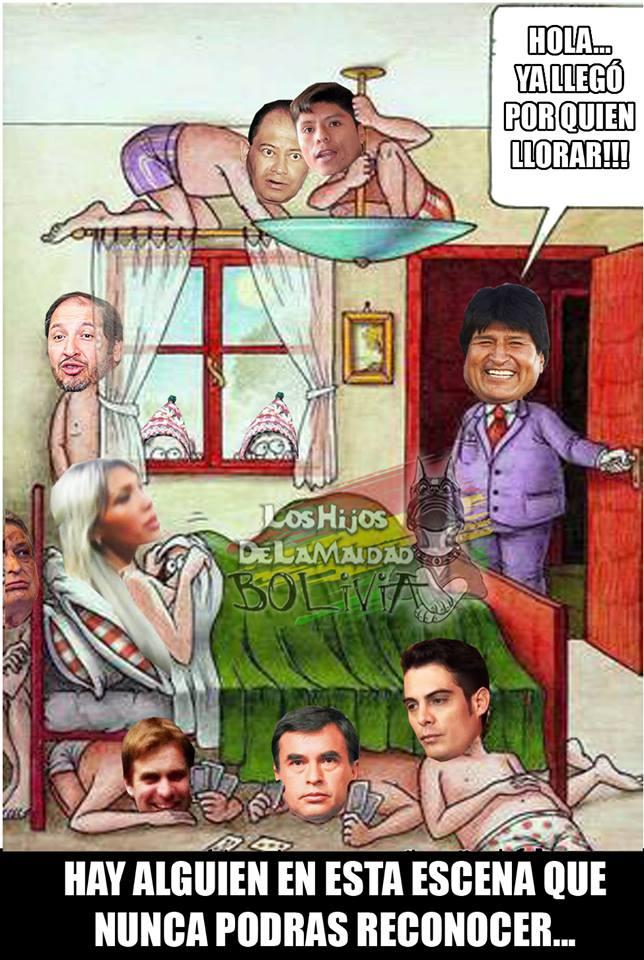 Meme de cómo Gabriela Zapata ha hecho su fortuna