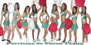 porristas de Unión Tarija
