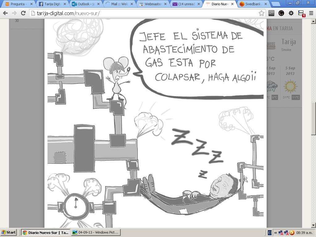 La Caricatura del Dia 10 de Septiembre del 2013