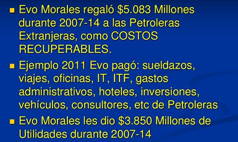 """La gran estafa de la """"nacionalización"""" de Evo Morales"""
