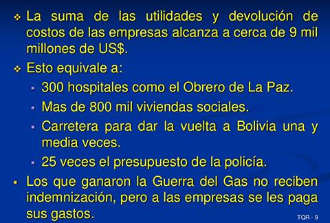 """La estafa de la """"nacionalización"""" de Evo Morales"""