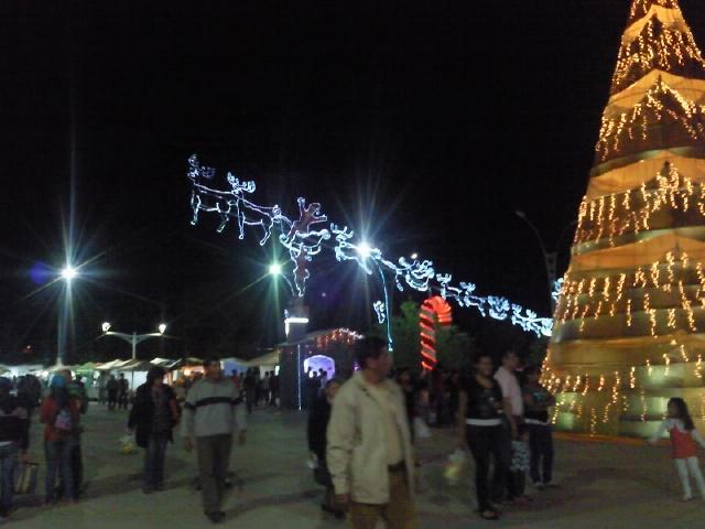 Navidad de noche