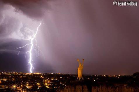 Tormenta eléctrica en Tarija