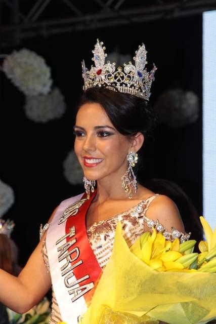 Maribel Donaire, Miss Tarija 2015