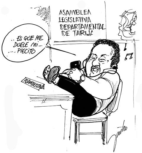 Caricatura de politicos