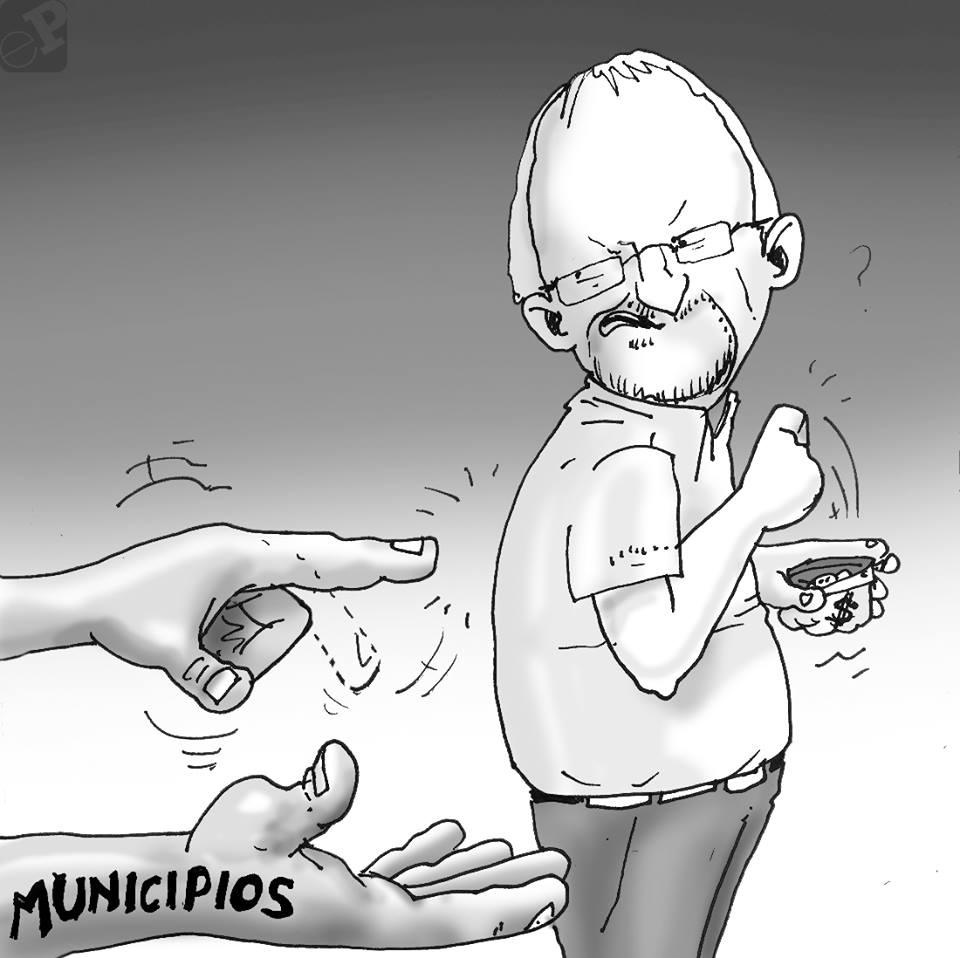 Caricatura sobre Adrian Oliva