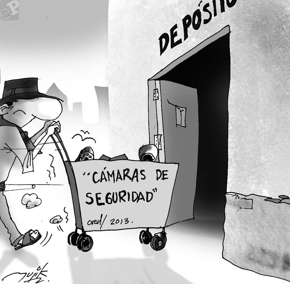 Caricatura sobre proyectos