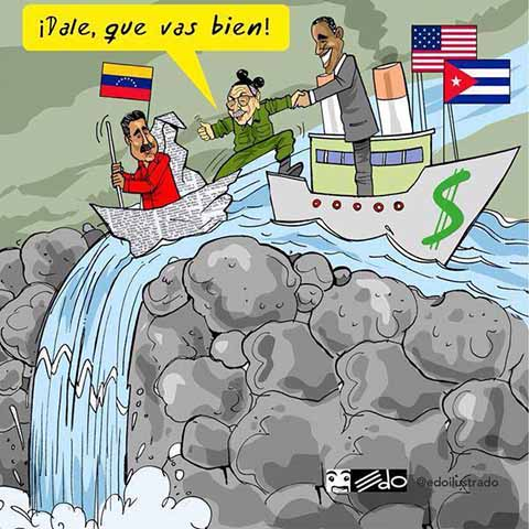 Meme USA - Cuba - Venezuela