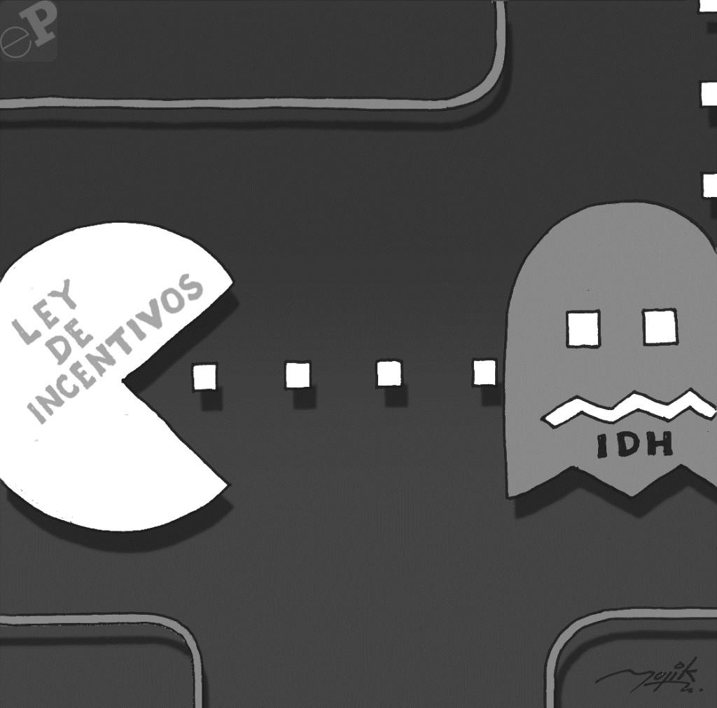 Caricatura de video juego