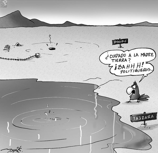 Caricatura sobre ecología