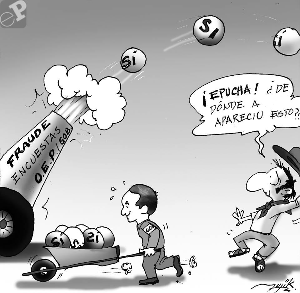 caricatura de encuenstas