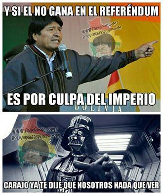 Meme sobre el imperio
