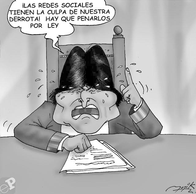 caricatura-evo-redes-sociales