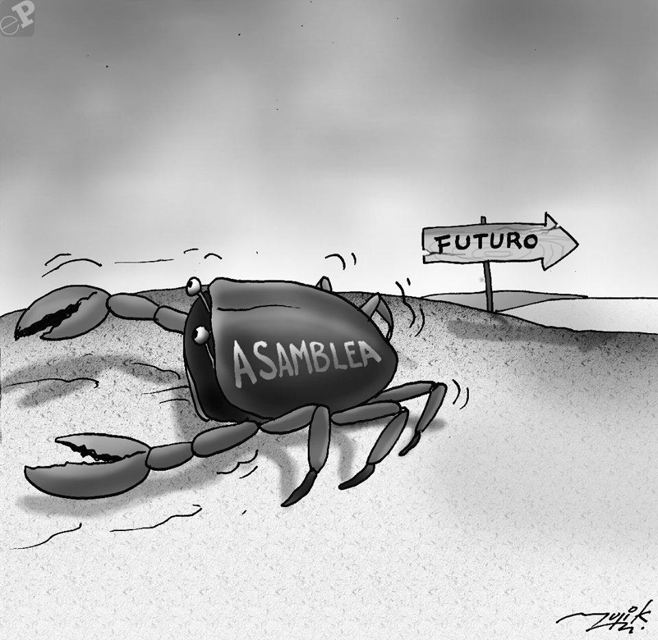 Caricatura de cangrejo