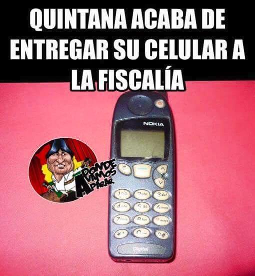 Meme del celular de Quintana